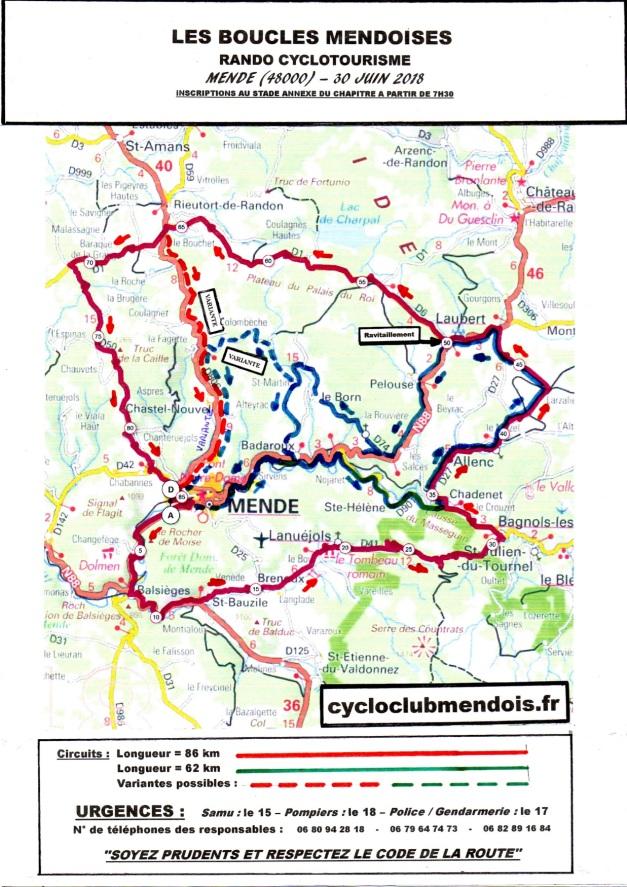 Circuits 86km et 62km(1)
