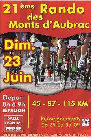 panneau rando cyclo route repiquage 2019